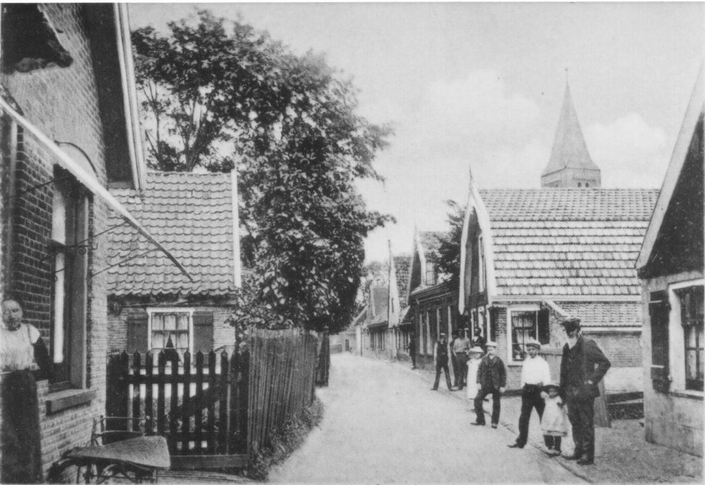 Burgemeesterswoning of boerderij familie Savooijen te Hippolytushoef.