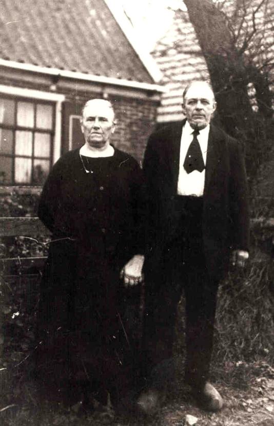 Jannetje Halfweeg en Evert Rotgans