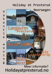 Vakantie woning Presterud Noorwegen