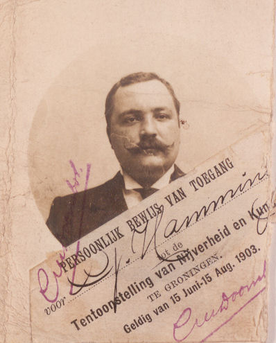 Gerhardus Hamming, zoon van Harm Hamming en Albertina Heitingh
