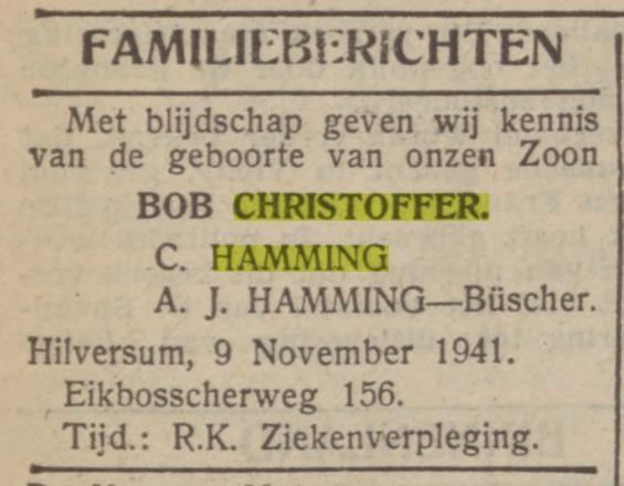 Christoffer Hamming - Buscher