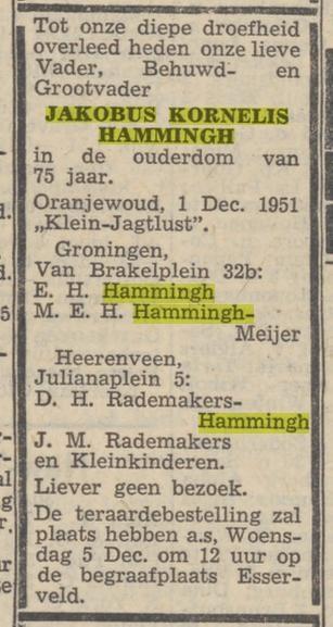 Jakobus Kornelis Hammingh