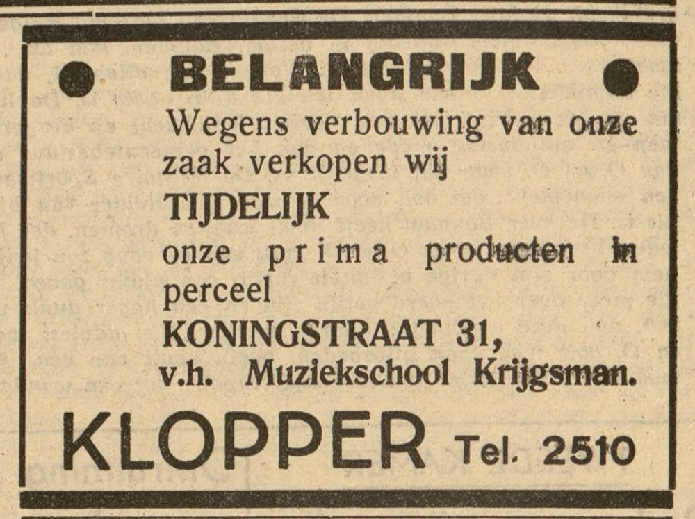 firma-Klopper-Den-Helder-1949