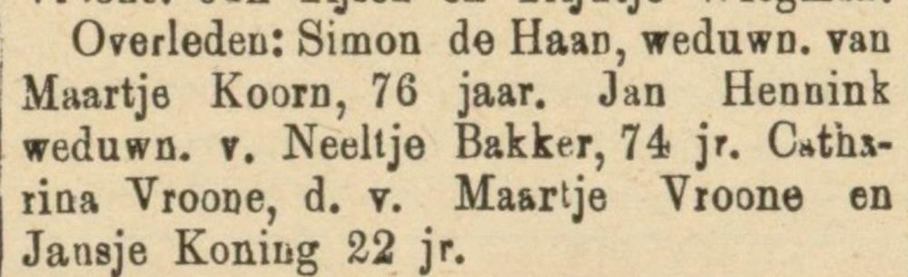 Jan Hennink geboren Winkel, wonende op Wieringen, leeft een uitzonderlijk leven.